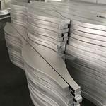 木紋波浪造型鋁單板弧形鋁方通定制