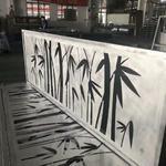 镂空竹叶图案铝单板 雕刻图案厚度