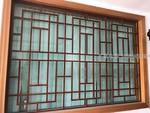 新型铝合金窗花 焊接铝防盗窗