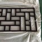 挂落圖片 木紋鋁挂落裝飾