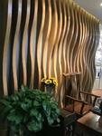 吊顶弧形铝方通-木纹铝方通装饰条