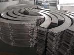 燒焊弧形鋁方通吊頂效果圖