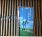 货梯墙面铝方通型材 弧形铝管幕墙