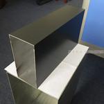 铝四方管深灰色氟碳喷涂