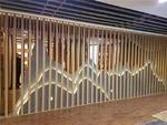 50*100木紋造型鋁型材 板材鋁方通