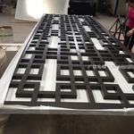 立面鋁格柵也叫做鋁屏風