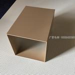 40*60鋁方通廣告門頭木紋鋁方管