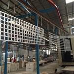東大河閘站建築鋁屏風