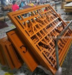 铝合金扇窗铝雕刻屏风定制