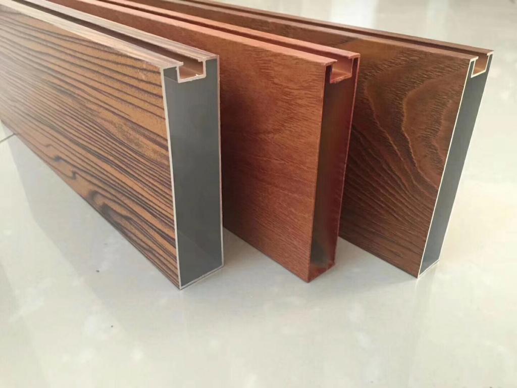 立体墙隔断铝方通单色铝方通铝材厂家