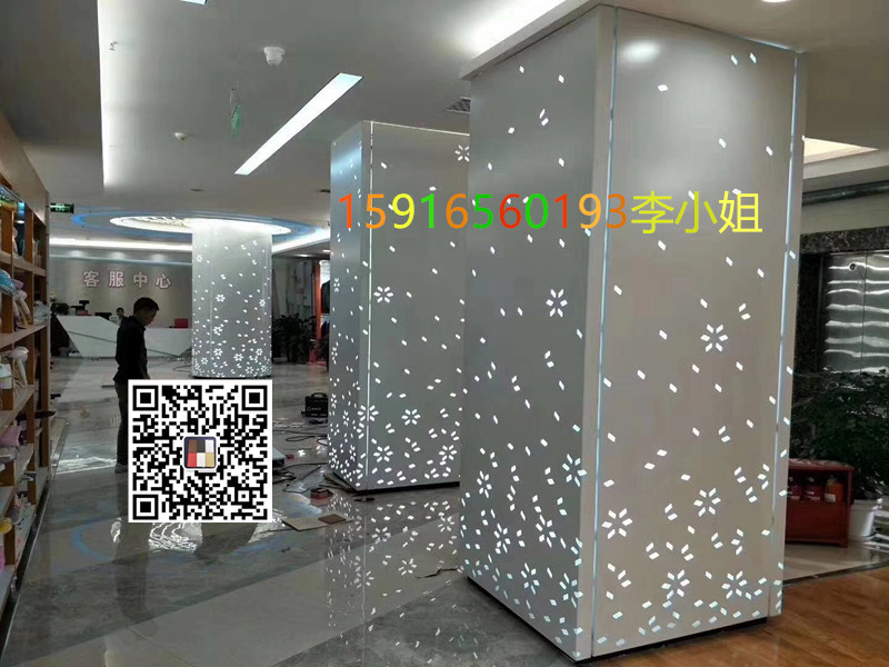 門頭造型銀灰色鋁單板,開拓創新