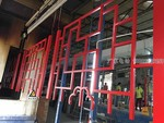 景區小鎮倣古門窗鋁屏風工程案例