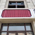 外墙广告牌雕花刻字铝单板定制