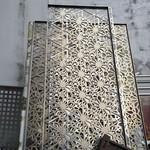 浴足城装饰雕花铝单板办公室吊顶