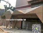 中庭隔墙吊顶铝方通型材条