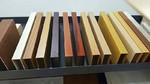 公寓外面墻鋁方通定制木色鋁合金條