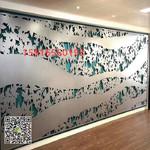 UV彩色铝幕墙板,排孔图铝单板