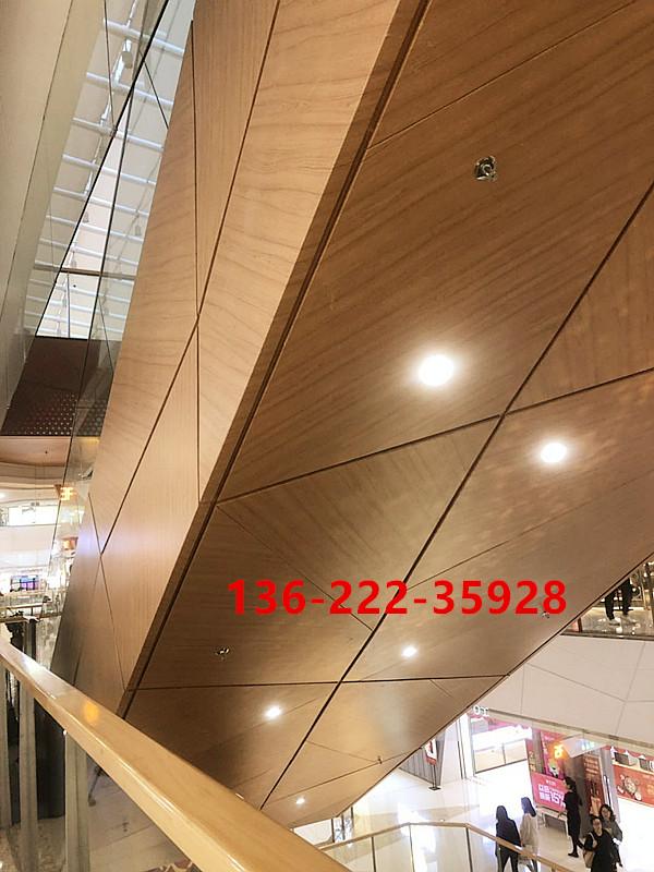 雨棚支撑柱冲孔圆型铝单板,超厚铝板