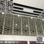 铝型材隔断铝花格 铝合金格栅