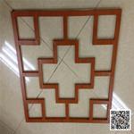 广东珠海斗门区中式铝花格窗厂家