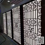 广东江门市铝合金门窗洞铝花格定制