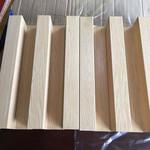 顶棚建筑热转印木纹铝管,造型铝方管