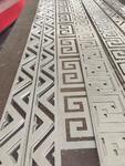 黑龙江仿古色8mm厚铝合金板,浮雕铝图厂