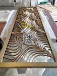 金屬雕花鋁板-來圖訂制仿古鋁屏風