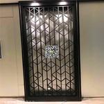 建築裝潢鋁窗花-型材扁管拼接鋁花格
