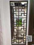门厅改造铝格栅铝窗花厂家