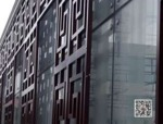 中式铝合金花格四合院仿古木纹窗花