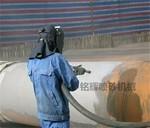 管道除锈内壁喷砂机器