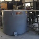 大连节能燃气坩埚炉/大连熔铝炉