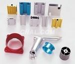 抛光氧化彩色铝管 抛光氧化厂 喷砂铝管价格