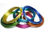 彩色氧化铝线,产品铝线,螺丝铝线