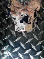 3003铝板,5052指针型抛光面花纹板