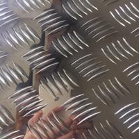 5052压花五条筋花纹防滑铝板