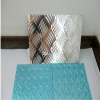 压花五条筋花纹铝板 大尺寸1.5*4米