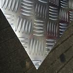 3003五条筋花纹铝板 指针型花纹板