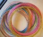 6063彩色氧化铝线 DIY手工用铝线