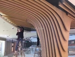 昆明弧形鋁方通廠家造型曲面鋁方通