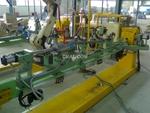 車架自動焊接機器人生產線