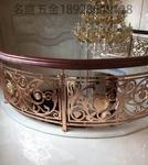 雕刻樓梯護欄 鋁合金電鍍樓梯欄桿