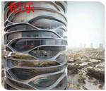 高鐵站鋁幕��-鋁板外��-肇慶生產廠家