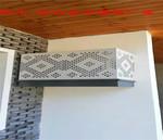 办公楼铝百叶空调罩-空调保护罩-云浮价格是多少