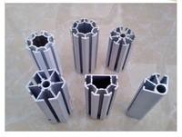 八棱柱展架鋁材 書畫展板展架鋁材