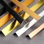深圳鋁合金L型直角收邊條材料
