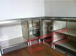 康美家橱柜材料晶钢门铝材全铝橱柜