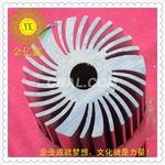 太阳花铝合金型材散热器厂家直销7