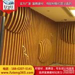 商場弧形鋁方通裝飾材料